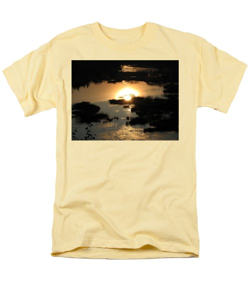 Reflections At Sunset Men's T-Shirt  (Regular Fit) by Barbara Yearty