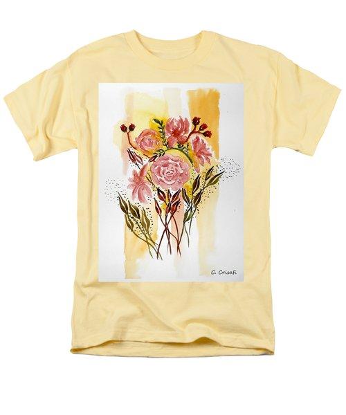 Retro Florals Men's T-Shirt  (Regular Fit)