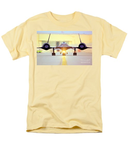 Men's T-Shirt  (Regular Fit) featuring the photograph Roger That - Sr71 Jet by Greg Moores