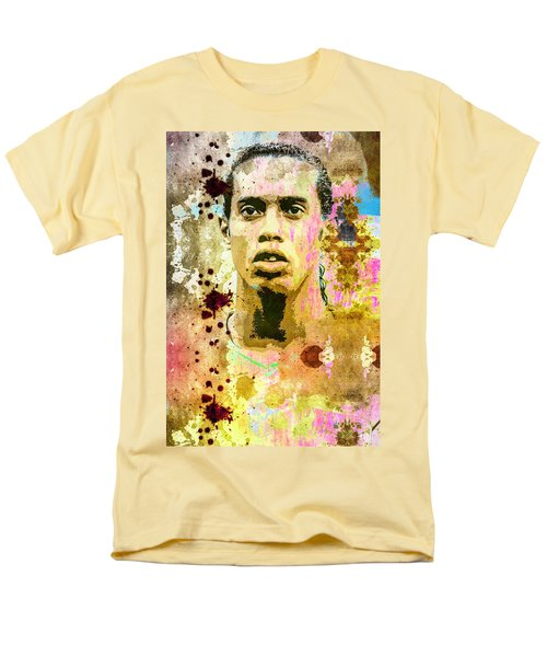 Ronaldinho Gaucho Men's T-Shirt  (Regular Fit) by Svelby Art