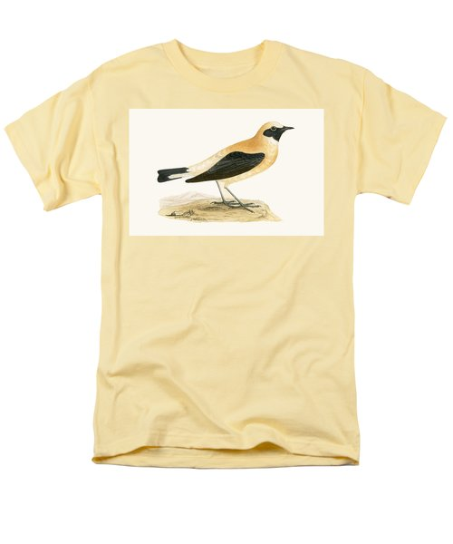 Russet Wheatear Men's T-Shirt  (Regular Fit) by English School