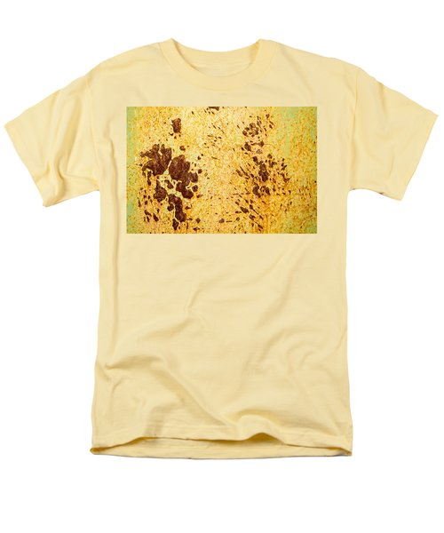 Men's T-Shirt  (Regular Fit) featuring the photograph Rust Metal by John Williams