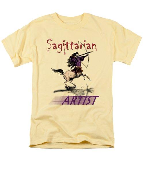 Sagittarian Artist Men's T-Shirt  (Regular Fit)