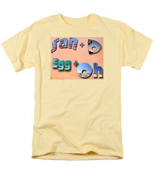 Men's T-Shirt  (Regular Fit) featuring the photograph San D Egg Oh by Christopher Woods