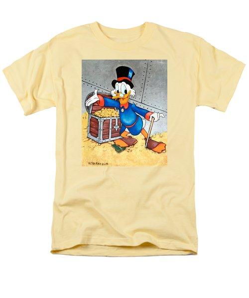 Scrooge Mcduck  Men's T-Shirt  (Regular Fit) by Victor Minca
