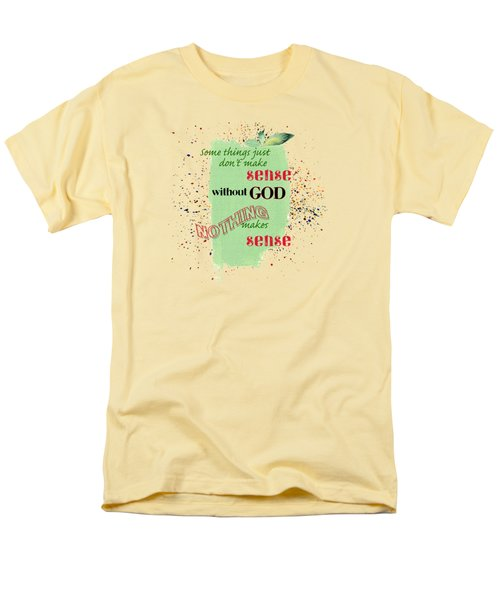 Sense Men's T-Shirt  (Regular Fit) by Larry Bishop