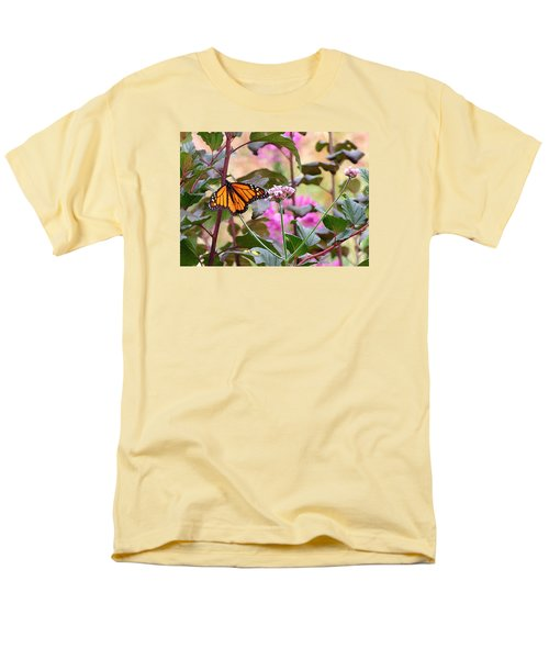 September Monarch Men's T-Shirt  (Regular Fit) by Janis Nussbaum Senungetuk