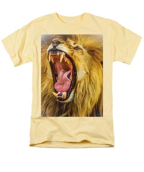 Stay Away From My Teeth Men's T-Shirt  (Regular Fit) by Moustafa Al Hatter