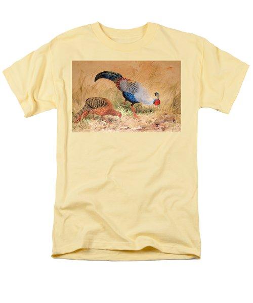 Siamese Pheasant  Men's T-Shirt  (Regular Fit)