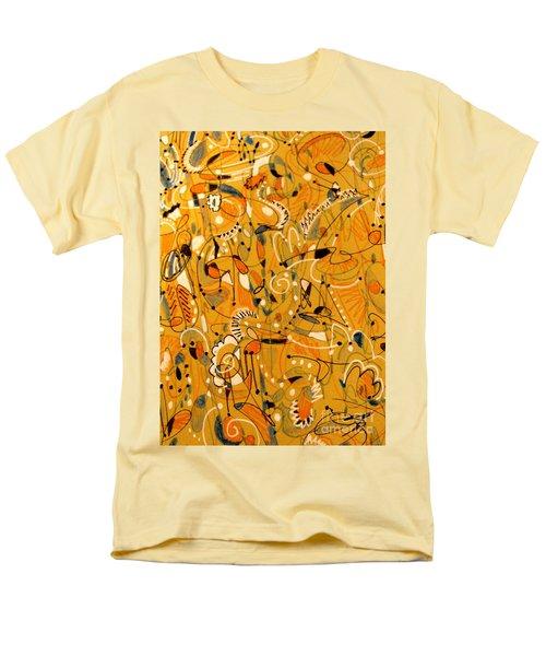 Signs Written In Big Print Men's T-Shirt  (Regular Fit) by Nancy Kane Chapman