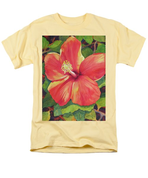 Men's T-Shirt  (Regular Fit) featuring the painting Sizzle by Judy Mercer