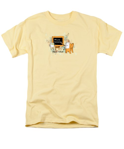 Men's T-Shirt  (Regular Fit) featuring the digital art Smore School Illustrated by Heather Applegate