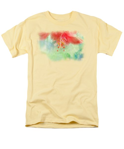 Softly Colored 1 Men's T-Shirt  (Regular Fit) by Judy Hall-Folde