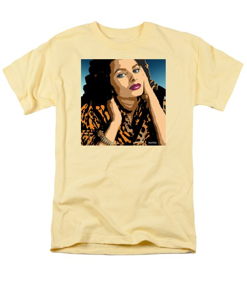 Men's T-Shirt  (Regular Fit) featuring the digital art Sophia by John Keaton