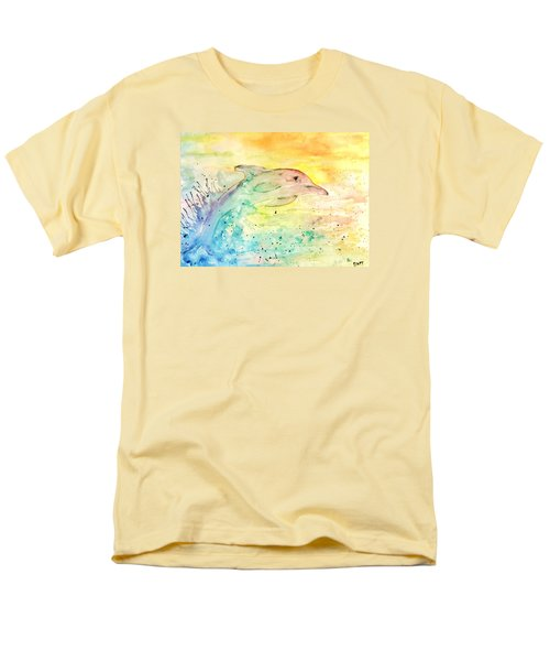 Men's T-Shirt  (Regular Fit) featuring the painting Splash by Denise Tomasura