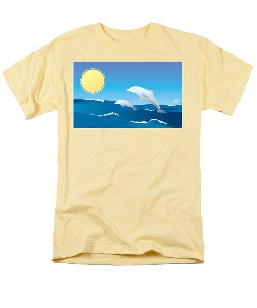 Splash Men's T-Shirt  (Regular Fit)