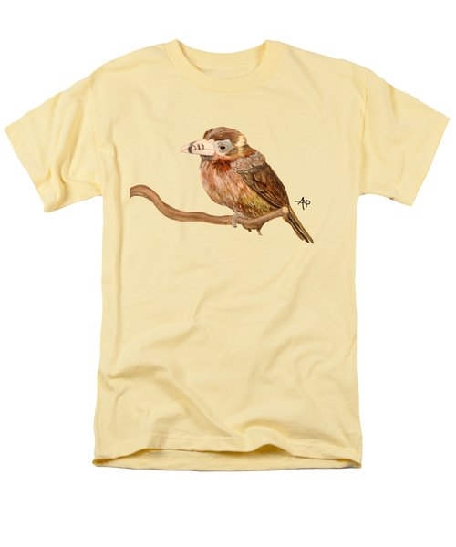 Spot-billed Toucanet Men's T-Shirt  (Regular Fit) by Angeles M Pomata