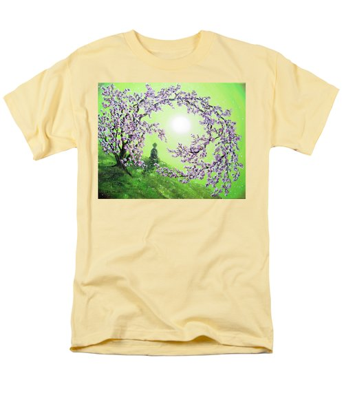 Spring Morning Meditation Men's T-Shirt  (Regular Fit) by Laura Iverson