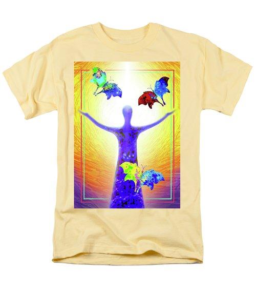 Springtime Men's T-Shirt  (Regular Fit) by Hartmut Jager