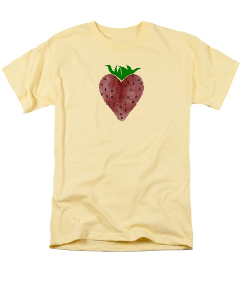 Strawberries Men's T-Shirt  (Regular Fit) by Kathleen Sartoris
