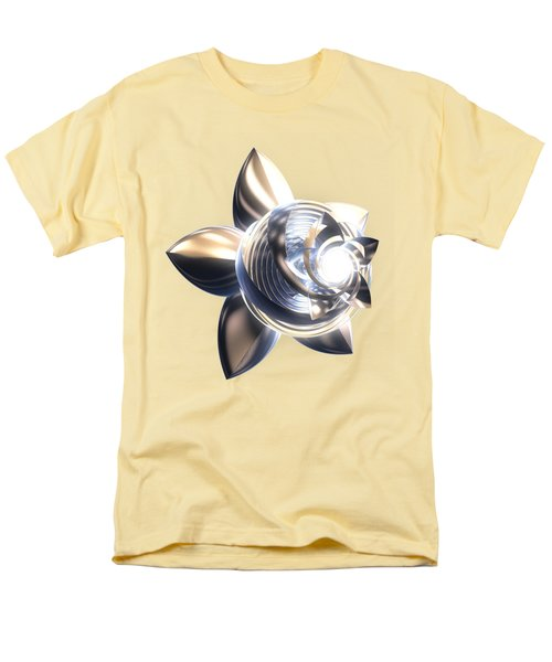 Men's T-Shirt  (Regular Fit) featuring the digital art Stylized Abstract Light by Linda Phelps