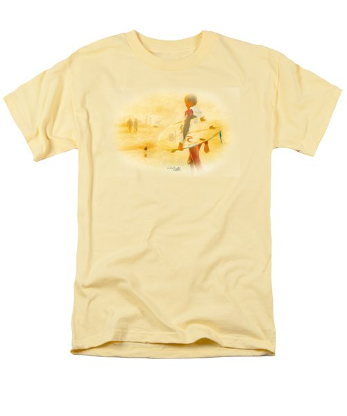 Men's T-Shirt  (Regular Fit) featuring the painting Summer II by Chris Armytage