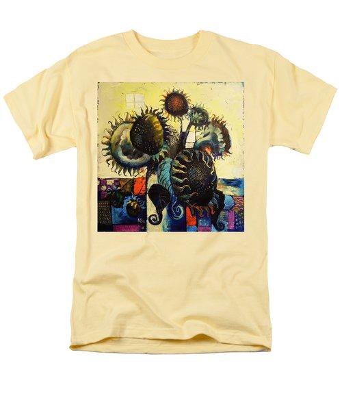 Sunflowers Men's T-Shirt  (Regular Fit) by Mikhail Zarovny
