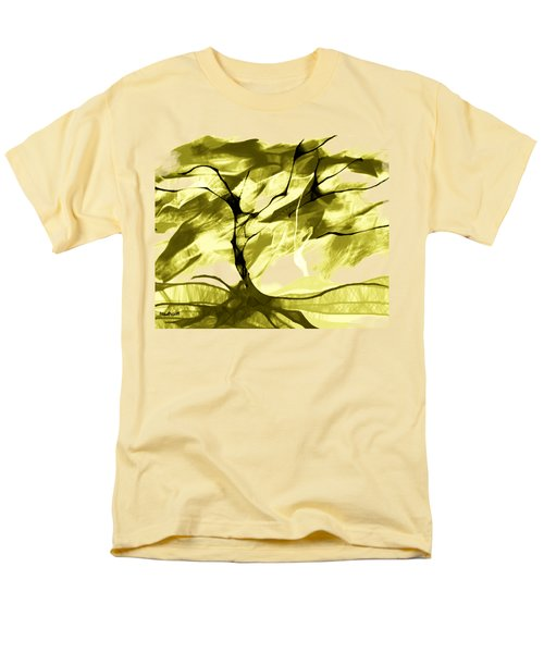 Men's T-Shirt  (Regular Fit) featuring the digital art Sunny Day by Asok Mukhopadhyay