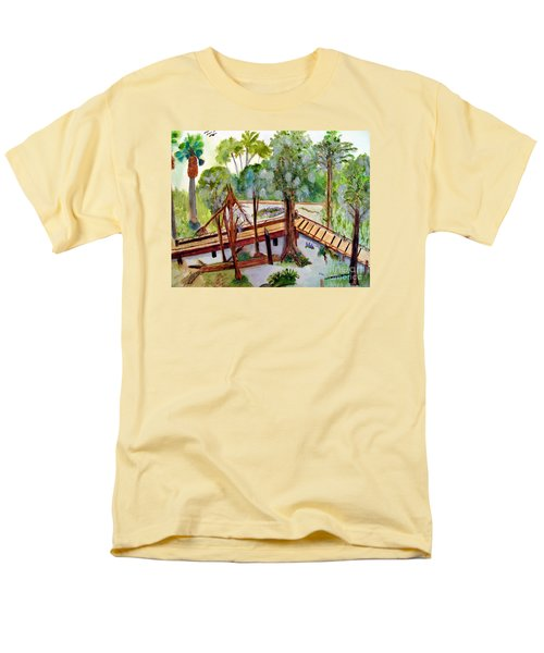 Sunny Day In Central Florida Men's T-Shirt  (Regular Fit) by Sandy McIntire