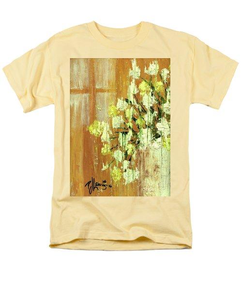 Sunny Flowers Men's T-Shirt  (Regular Fit)