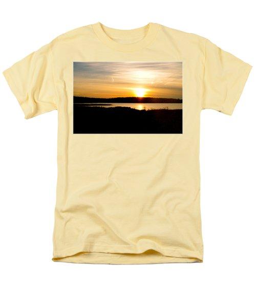 Sunset On Morrison Beach Men's T-Shirt  (Regular Fit) by Jason Lees