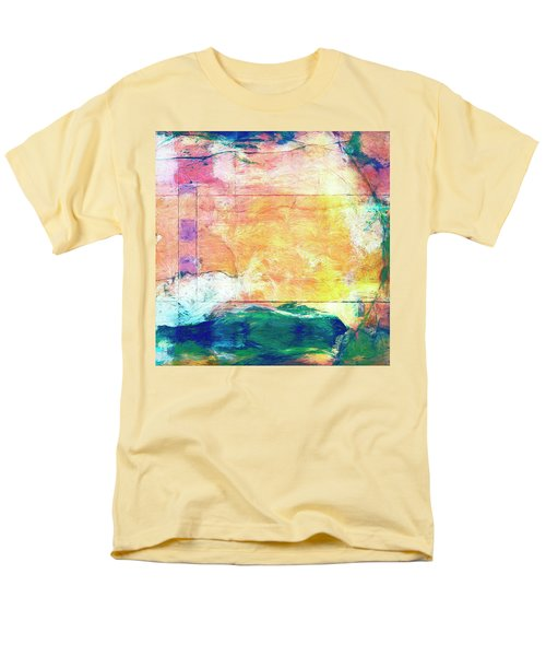 Men's T-Shirt  (Regular Fit) featuring the painting Surface Vector by Dominic Piperata