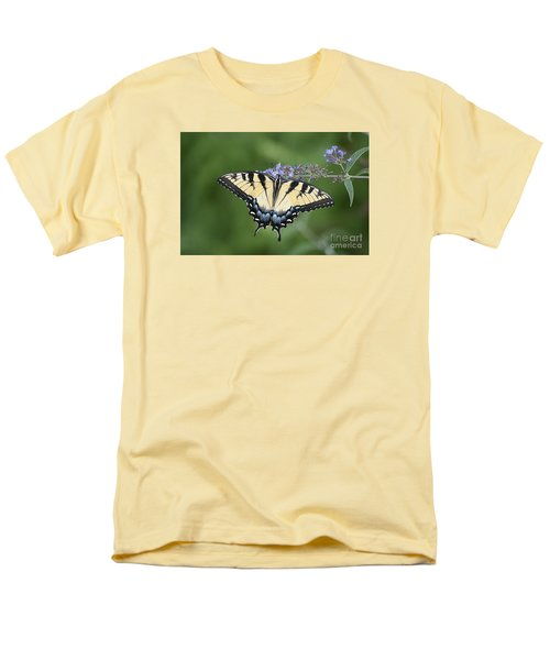 Men's T-Shirt  (Regular Fit) featuring the photograph Swallowtail 20120723_24a by Tina Hopkins
