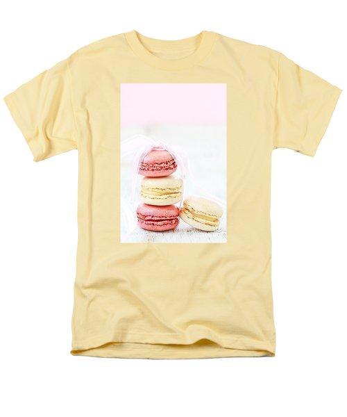 Sweet French Macarons Men's T-Shirt  (Regular Fit)