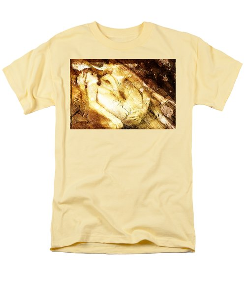 Men's T-Shirt  (Regular Fit) featuring the digital art Tangle Of Naked Bodies by Andrea Barbieri