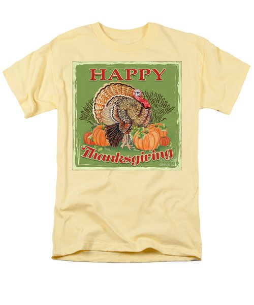Men's T-Shirt  (Regular Fit) featuring the painting Thanksgiving-b by Jean Plout