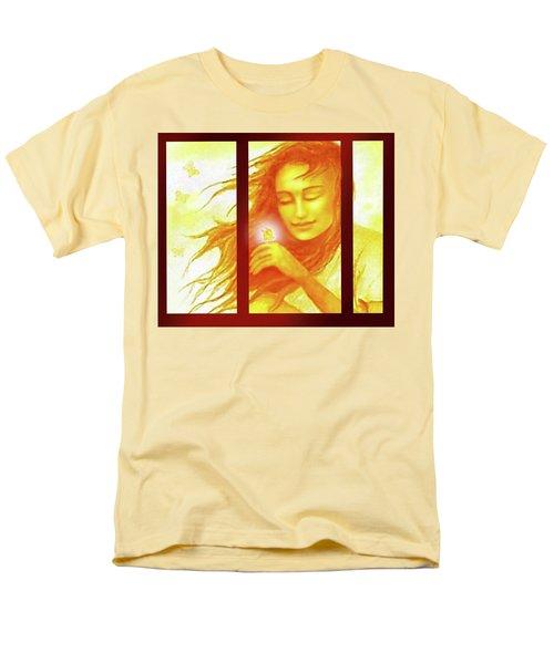 The Butterfly  Men's T-Shirt  (Regular Fit) by Hartmut Jager