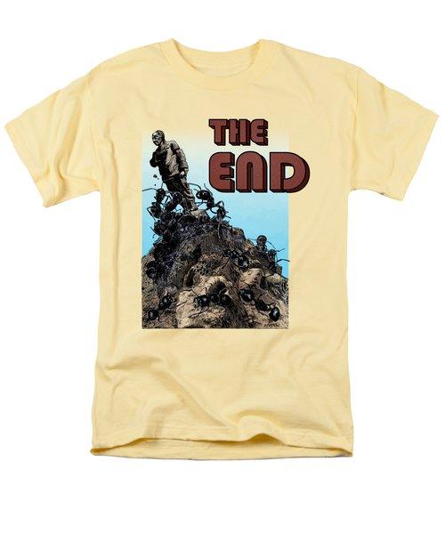 The End Men's T-Shirt  (Regular Fit)