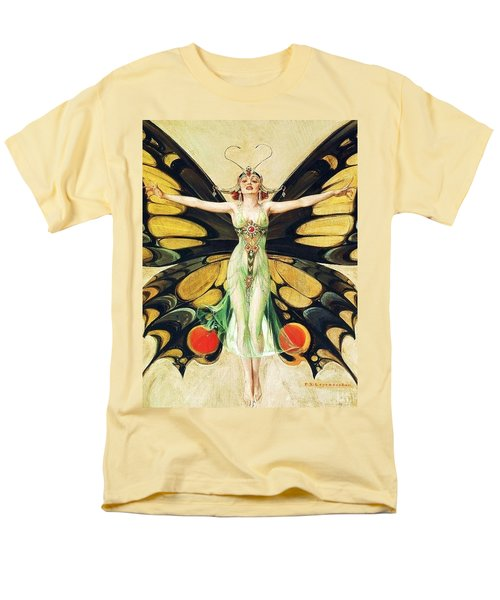 The Flapper Men's T-Shirt  (Regular Fit) by Pg Reproductions