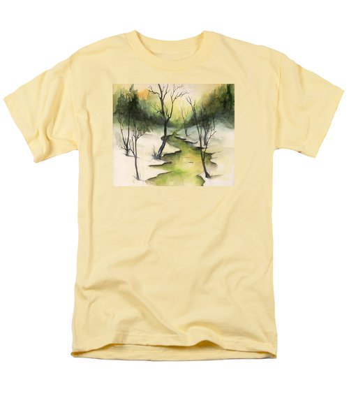 The Greenwood Men's T-Shirt  (Regular Fit) by Terry Webb Harshman