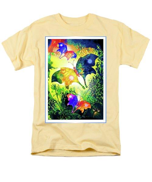 The Magic Of Butterflies Men's T-Shirt  (Regular Fit) by Hartmut Jager