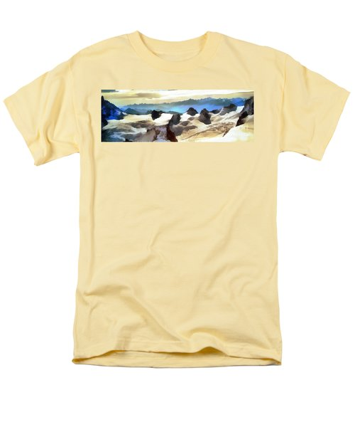 The Mountain Paint Men's T-Shirt  (Regular Fit) by Odon Czintos