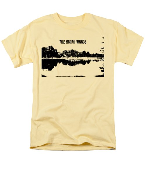 The North Woods Men's T-Shirt  (Regular Fit) by Mim White