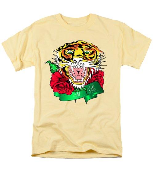 Tiger L Men's T-Shirt  (Regular Fit)