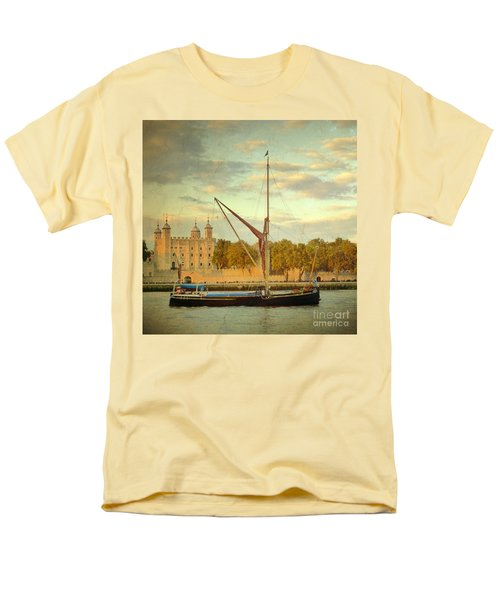 Men's T-Shirt  (Regular Fit) featuring the photograph Time Travel by LemonArt Photography
