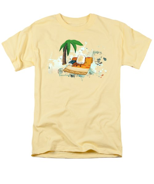 Men's T-Shirt  (Regular Fit) featuring the digital art Toasted Illustrated by Heather Applegate