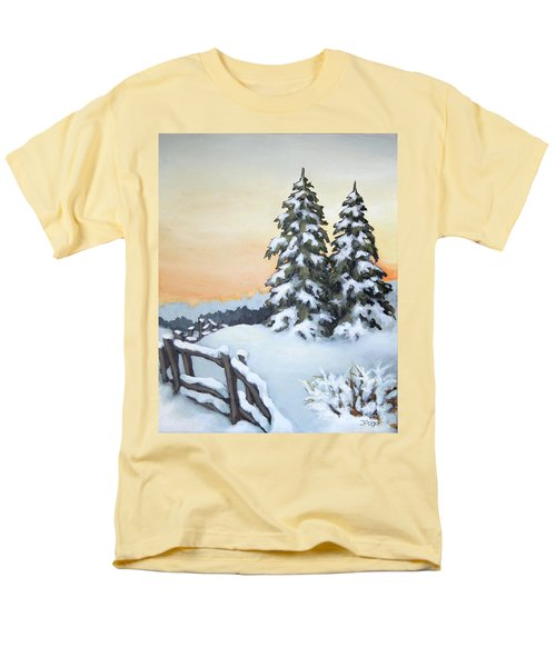 Men's T-Shirt  (Regular Fit) featuring the painting Together by Inese Poga