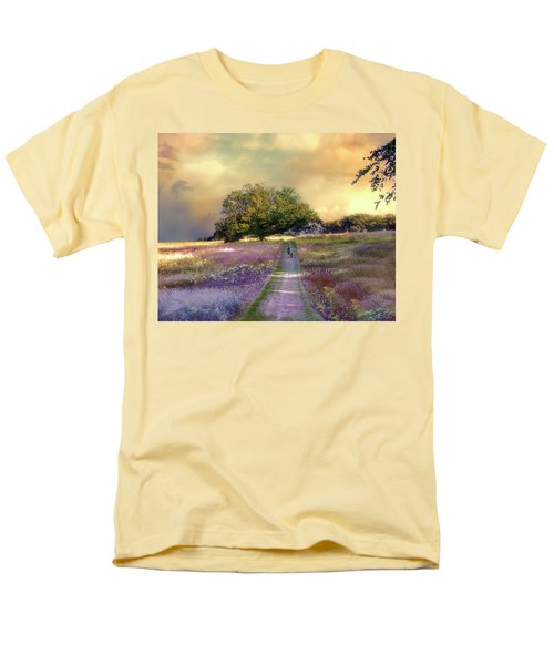 Together We Can Weather The Storms Men's T-Shirt  (Regular Fit) by John Rivera