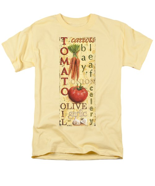 Tomato Soup Men's T-Shirt  (Regular Fit) by Debbie DeWitt