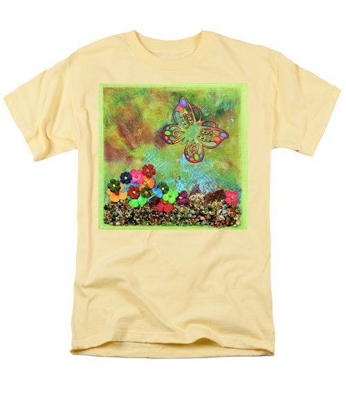 Touched By Enchantment Men's T-Shirt  (Regular Fit) by Donna Blackhall